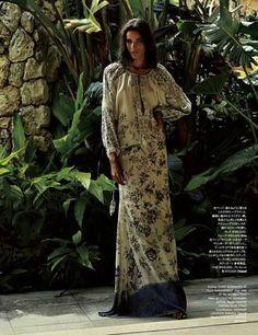 """Paradise"" Simone Carvalho by Tisch for Harper's Bazaar Japan May 2015"