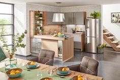 Einbauküche Touch online kaufen ➤ mömax Table, Furniture, Home Decor, Drawers, Interior Design, Home Interior Design, Desk, Tabletop, Arredamento