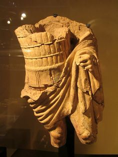 Etruscan terracotta warrior by diffendale, via Flickr