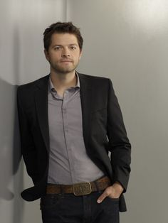 Misha Collins. I absolutely LOVE this man. Google him. After you look at him, of course. You'll see why.. he is much more my definition of a certain role than not to be mentioned fictional one ;)