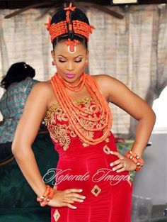 Welcome to Our Traditional Wedding: Beautiful Edo BridesMore Photos @ FB:Traditional W...