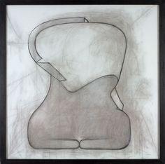 Gino De Dominicis, Senza titolo, 1993, olio su tela