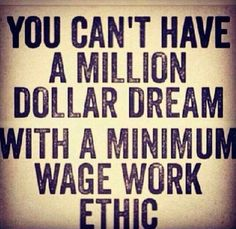 Ambition is priceless bit the lack of ethics will cost you everything -me