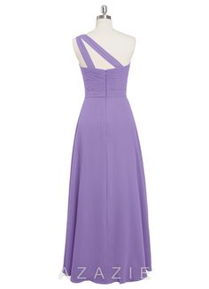 Shop Azazie Bridesmaid Dress - Hermoine in Chiffon. Find the perfect made-to-order bridesmaid dresses for your bridal party in your favorite color, style and fabric at Azazie.