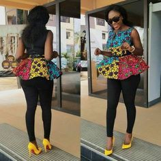 Of course, we know the beauty in Ankara can never be overestimated. Ever come across those wonderful trending Ankara styles? One thing is certain, and that is Ankara is really… African Dresses For Women, African Print Dresses, African Attire, African Wear, African Fashion Dresses, African Women, African Prints, African Kids, Ankara Fashion