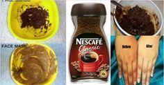 O que ela fez com café foi totalmente incrível e em apenas alguns minutos ela estava tão bonita.