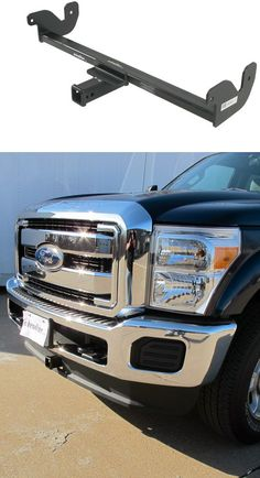 Easily attach a variety of accessories to the front of your Ford and Super Duty with this fully welded, corrosion-resistant trailer hitch receiver. Perfect for winches, spare tire carriers and more. Batanes, Trailer Hitch Receiver, Truck Accessories, Firefighter, Ford, Trucks, Vehicles, Dresses, Autos