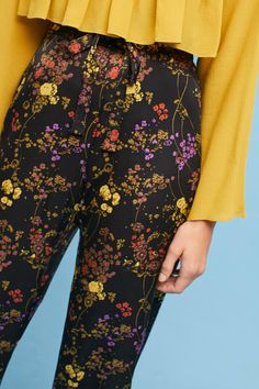 Suri Floral Trousers #ad #AnthroFave #AnthroRegistry Anthropologie