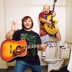 Tenacious D; Jack black and Kyle Gass are ULC Monastery celebrity ministers! Kinds Of Music, Music Is Life, New Music, Music Music, Hard Rock, Jack Black, Kyle Gass, Tenacious D, Indie