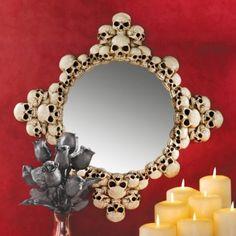Amazon.com: Mystic Skulls Wall Mirror: Home & Kitchen
