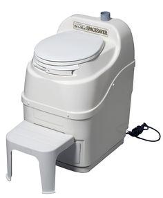 Spacesaver Composting Toilet