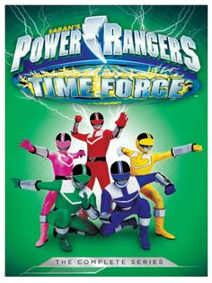 "#Giveaway: Win the DVD ""Power Rangers: Time Force: The Complete Series"" (Ends 2/26)"