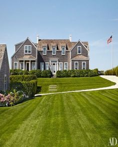 Victoria Hagan's Nantucket Home... LOVE. Painting house this white.