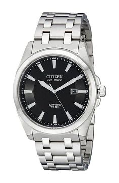 Citizen Watches BM7100-59E Corso Eco Drive Watch (Stainless Steel/Black) Analog Watches - Citizen Watches, BM7100-59E Corso Eco Drive Watch, BM7100-59E, Accessories Watches Men's Fashion, Analog, Watches, Jewelry, Gift - Outfit Ideas And Street Style 2017