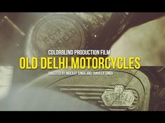 A beautifully shot doc on the Royal Enfield motorcycles and the culture of working on, painting and riding them in India. Makes us want to head out and do an Indian roadtrip. Old Delhi Motorcycles The Film