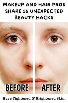 Daily Hacks, Useful Life Hacks, Beauty Hacks That Work, Facial Yoga, Mascara Wands, Dark Lipstick, Brown Blonde Hair, Eye Makeup, Makeup Art