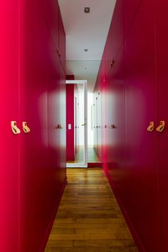 Dressing Appartement parisien de 180m2-GCG ARCHITECTES