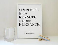 quote Coco Chanel ❤️