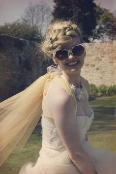 Frothy Petticoats, Crystal Embellished Glasses & Coloured Smoke Bombs