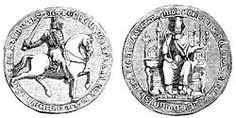 Engraving of Henry III's great seal