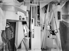 The Sprengel Museum's Merzbau - areconstruction of one room of the Hannover Merzbau made in 1981–83 by Peter Bissegger.