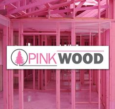 PinkWood - PinkWood uses a revolutionary, factory applied coating process, designed specifically to provide a visible and effective barrier against fire, mold, fungus and rot.       All PinkWood building products are coated with PinkShield™, a non-toxic, environmentally friendly technology. PinkShield™ coated products resist the growth of mold and rot fungus while providing added fire protection to your home through the use of integrated fire retardants.