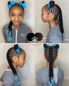 girls hairstyles braids Braids for Kids - 100 Back to School Braided Hairstyles for Kids in 2020 Black Kids Braids Hairstyles, Braids Hairstyles Pictures, Baby Girl Hairstyles, Natural Hairstyles For Kids, Braided Hairstyles For Black Women, Braids For Black Hair, Natural Hair Styles, Gorgeous Hairstyles, Children Braided Hairstyles