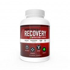 HerbGenix Cannabis-Enhanced Recovery Formula #edibles #cannabis #GoGreen