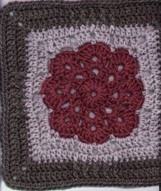 12 INCH GRANNY SQUARE PATTERN - Over 4000 Patterns