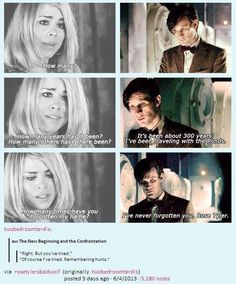 """(Need Eleven) """"How many times?"""" Rose asked, her voice wavering. """"How many times have you forgotten my name?"""" She had desperately been missing the Doctor but now that she was no less than two feet in front of him, she wanted some answers."""
