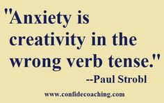 Anxiety and creativity