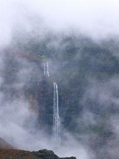Waimea Canyon on Kauai, Hawaii. Like 15 minutes from where I grew up. Go Here.