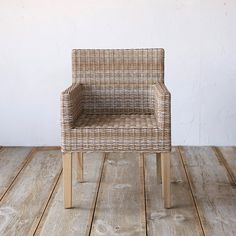 Slatted Teak Counter Stool in Outdoor Living Dining Tables + Chairs at Terrain