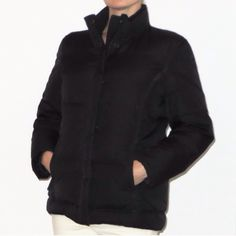 Black Puffy GAP Jacket Black super comfortable puffy GAP jacket. Very warm. Size S. Gently worn, but still in great shape. GAP Jackets & Coats Puffers