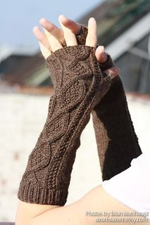 It's just like you're covering up your hands with your sweater sleeves. Not only do these mitts have a nice, comfortable wintery look, they will cover your knuckles snugly and keep you warm!