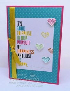 Project Life by Stampin' Up! Project Life is not just for Memory Keeping! The cards make perfect greeting cards and so quick and easy! click the photo to check out my upcoming Project Life by Stampin' Up! class/crop #PLxSU #stampinup #quickcards #projectlife