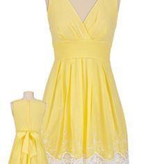 My yellow sundress!