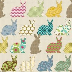 bunnies would be sweet for a little girl's room