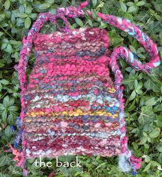 Faery handbag small medium purse fiber art by LifesAnExpedition