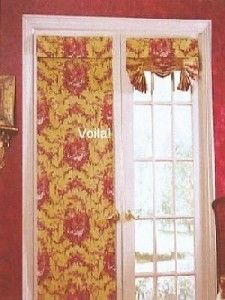 roll up french door shade