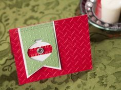 Stitched Holiday Card