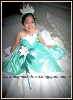 Vestido La Princesa y El Sapo