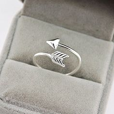 * Penny Deals * - Gift for everyone Chic Women Girl Silver Fashion Adjustable Arrow Open Knuckle Ring Jewelry >>> You can find out more details at the link of the image.