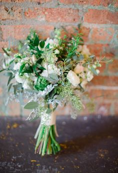 I like this one.  http://www.danistephensonphotography.blogspot.com/2014/02/rustic-and-romantic-inspiration-shoot.html