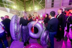 """""""NAUGHTY OR NICE"""" HOLIDAY PARTY AT DUGGAL GREENHOUSE Winter Wonderland Christmas Party, Jelly Shots, Ombre Effect, Fire And Ice, Food Design, Winter White, Holiday Parties, Party Ideas, Nice"""