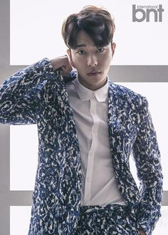 Yoon Hyun Min is Dapper for 'International bnt'   Koogle TV