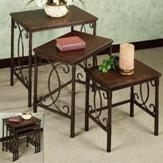 Lakefield Nesting Table Set, Set of...   $299.99