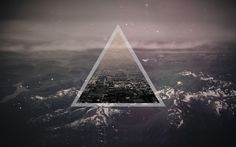 Image result for deep space logo triangle