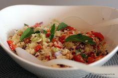 Schöner Tag noch! Food-Blog mit leckeren Rezepten für jeden Tag: Couscous-Salat mit Petersilie und Joghurtdip