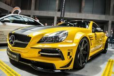 Wide body kit for Mercedes SL R230 by Suhorovsky Design. http://www.carid.com/